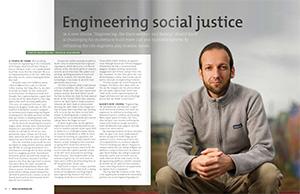 Prof. Kadir featured in Spring 2014 issue of Berkeley Engineer