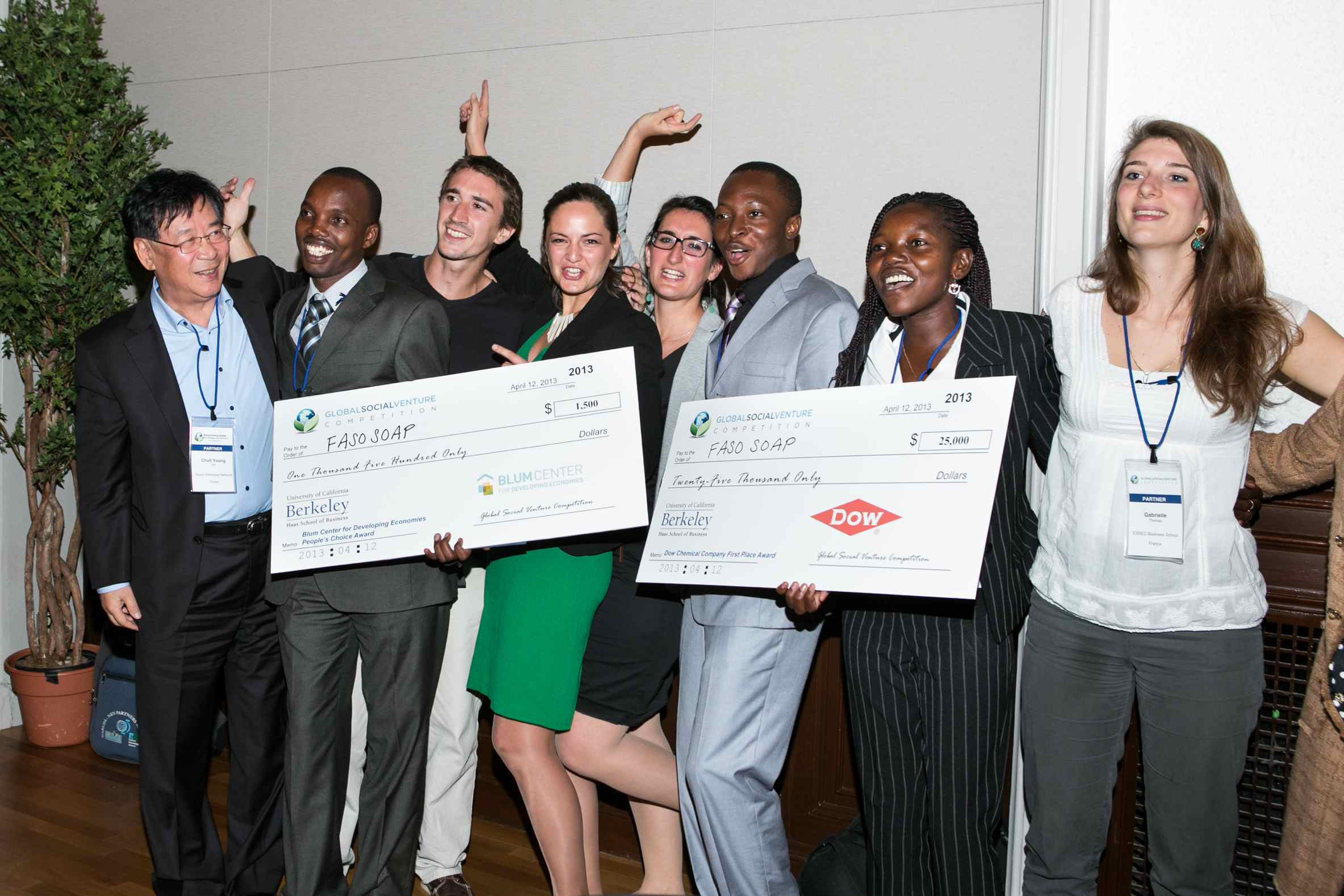 "Malaria-fighting ""Faso Soap"" Wins Global Social Venture Competition Grand Prize, People's Choice Award"
