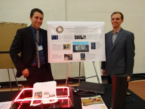 Matt Pavlovich & Connor Galleher CGIU Display