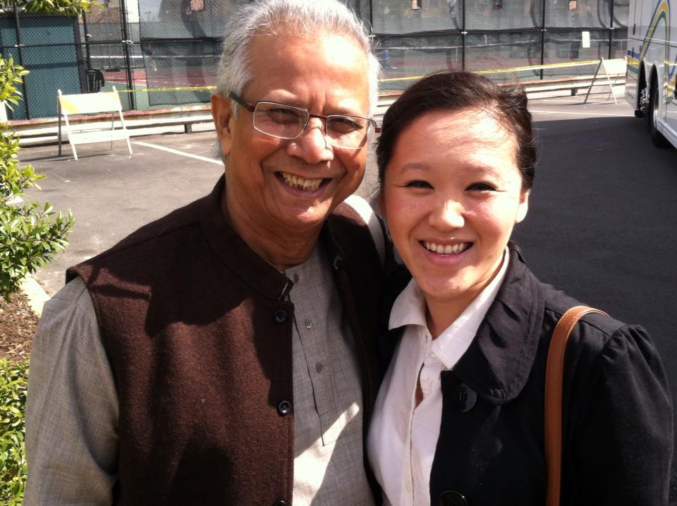 Ngan Pham and Mohammad Yunus