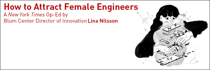 Blum Center Innovation Director Lina Nilsson Named One of MIT Technology Review's Innovators Under 35