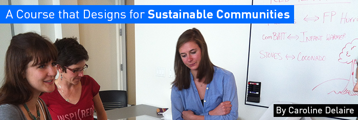 A Course that Designs for Sustainable Communities