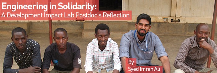 Engineering in Solidarity: A Development Impact Lab Postdoc's Reflection