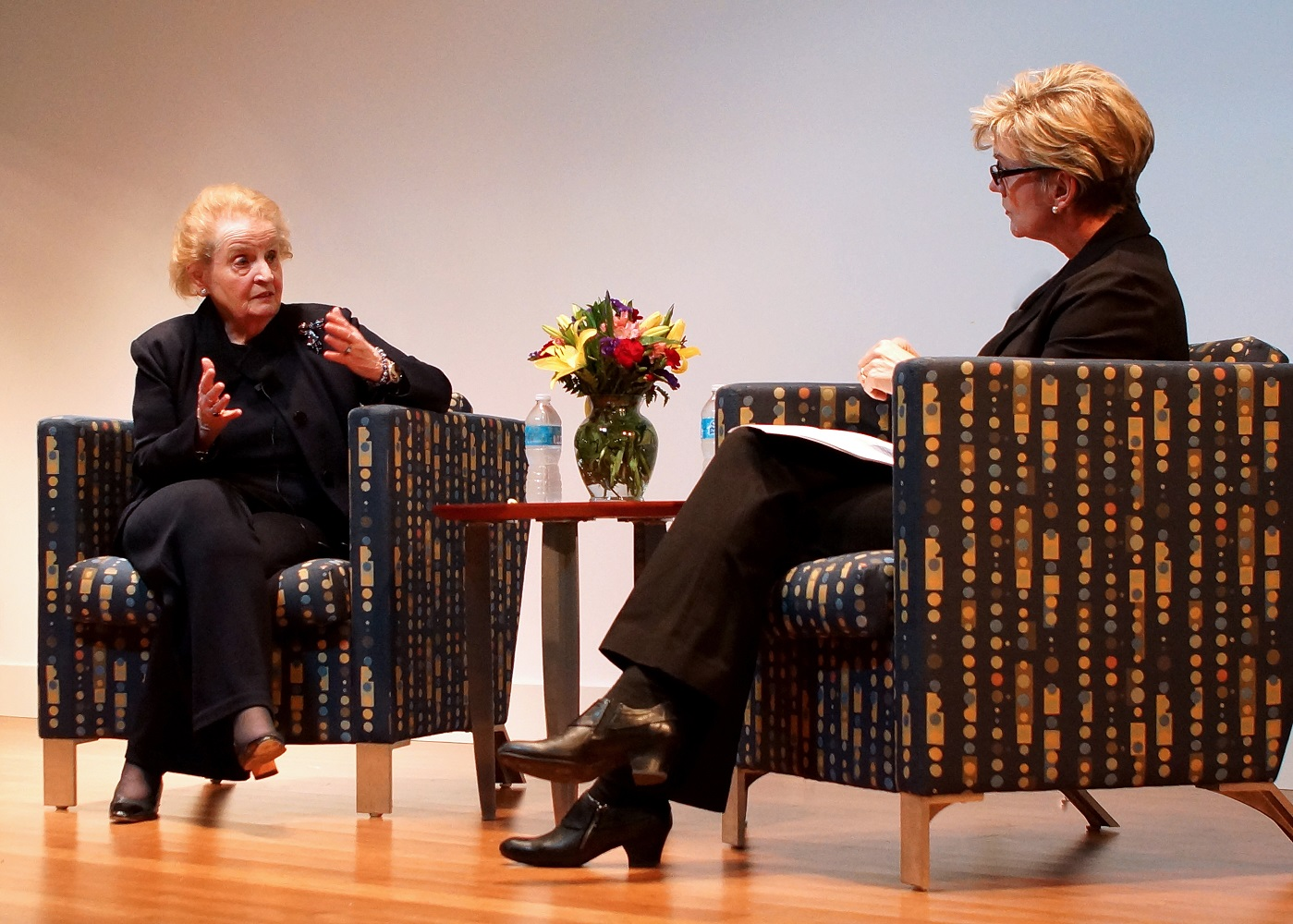 Blum Center Hosts Former Secretary of State Madeleine Albright for Discussion on Foreign Policy Megatrends