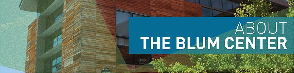 About the Blum Center