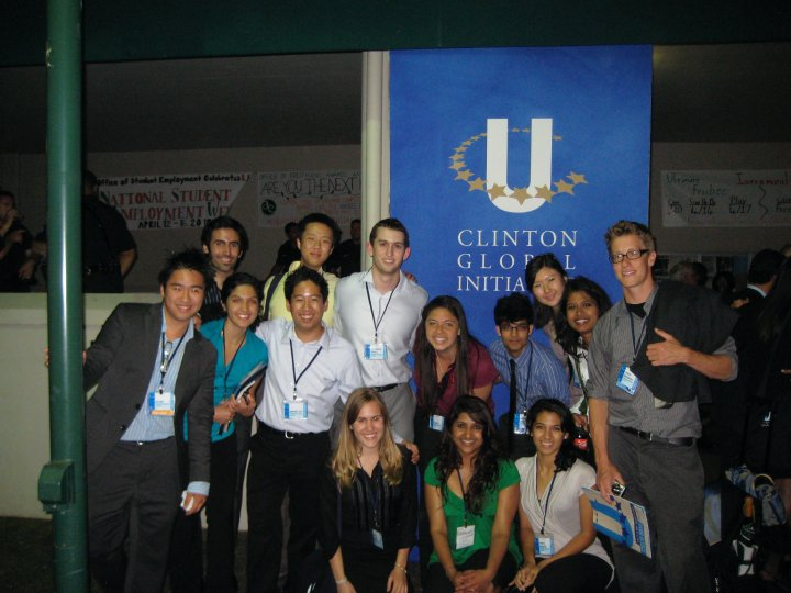 """36 UC Berkeley Students Make """"Commitments to Action"""" for 2015 Clinton Global Initiative University"""