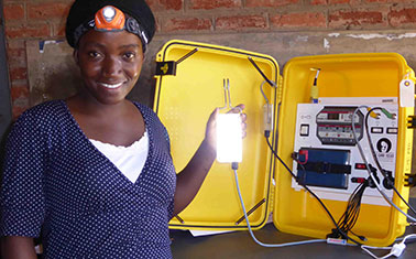 Blum Center-Supported We Care Solar Wins $1 Million UN Award