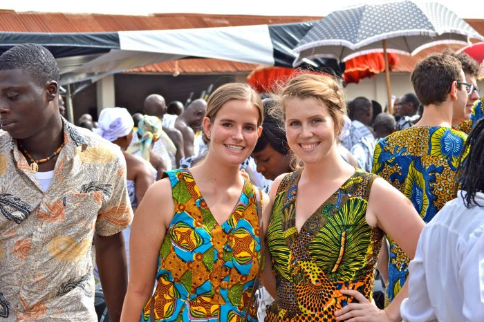 Julia Kramer and Maria Young pioneered the VIA training program in Kumasi and Accra, Ghana in June 2013.
