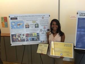 Cherukumilli received a Big Ideas @ Berkeley prize in 2015.