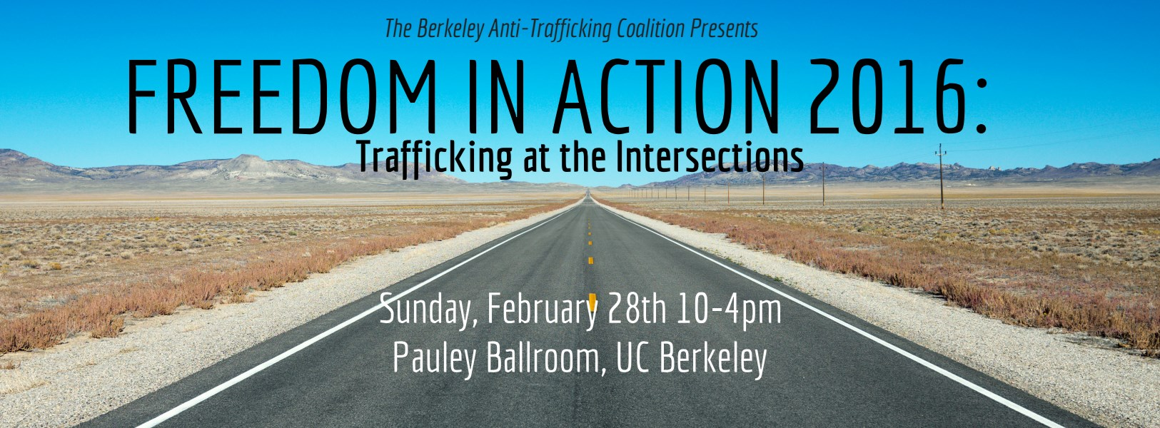 """Freedom in Action 2016: """"Trafficking at the Intersections"""""""