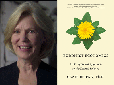 Blum Affiliated Faculty, Clair Brown, Talks Buddhist Economics
