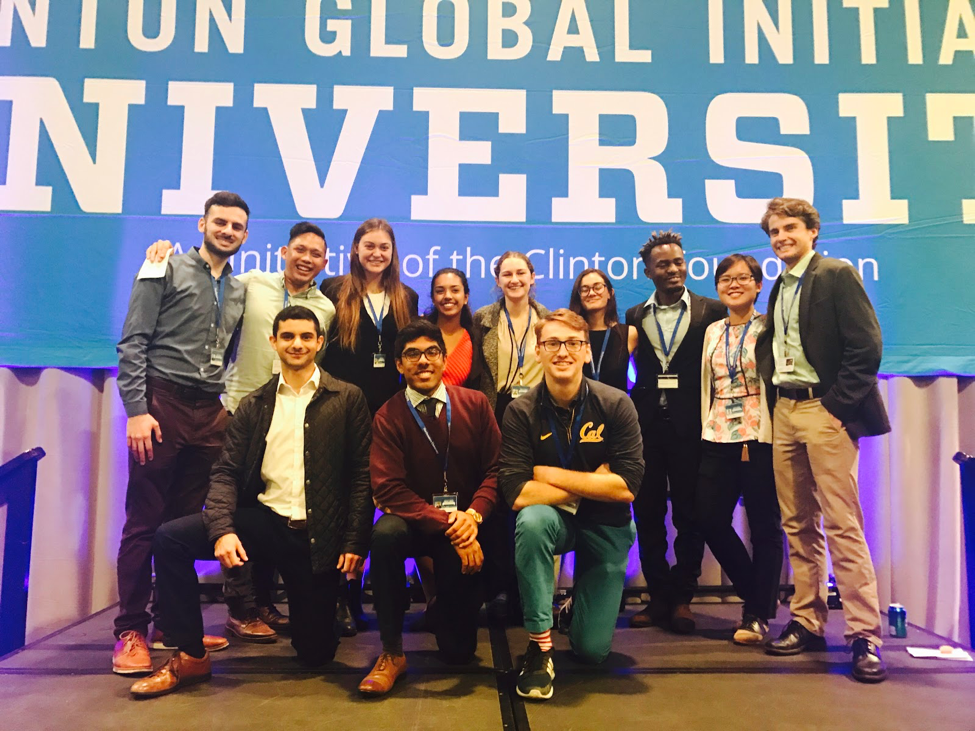 Thirty One UC Berkeley Students Headed to Clinton Global Initiative University