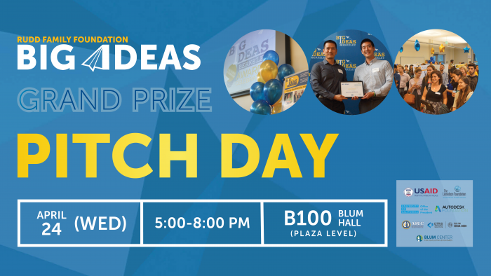 Big Ideas Grand Prize Pitch Day Showcases Inventions of Top Student Teams
