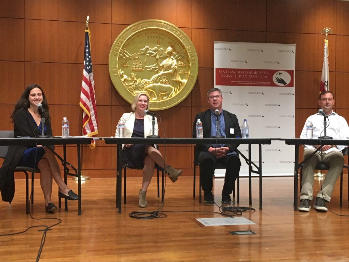 Blum Center Panel at San Francisco Collaborative Against Human Trafficking Symposium