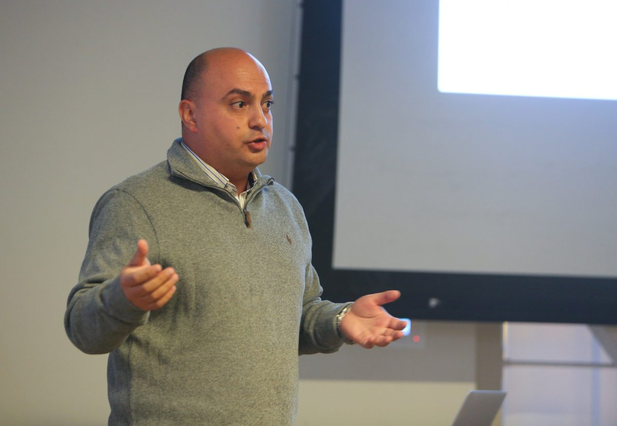 Suleiman Halasah: Environment as a Cross-boundary Peacebuilding Tool