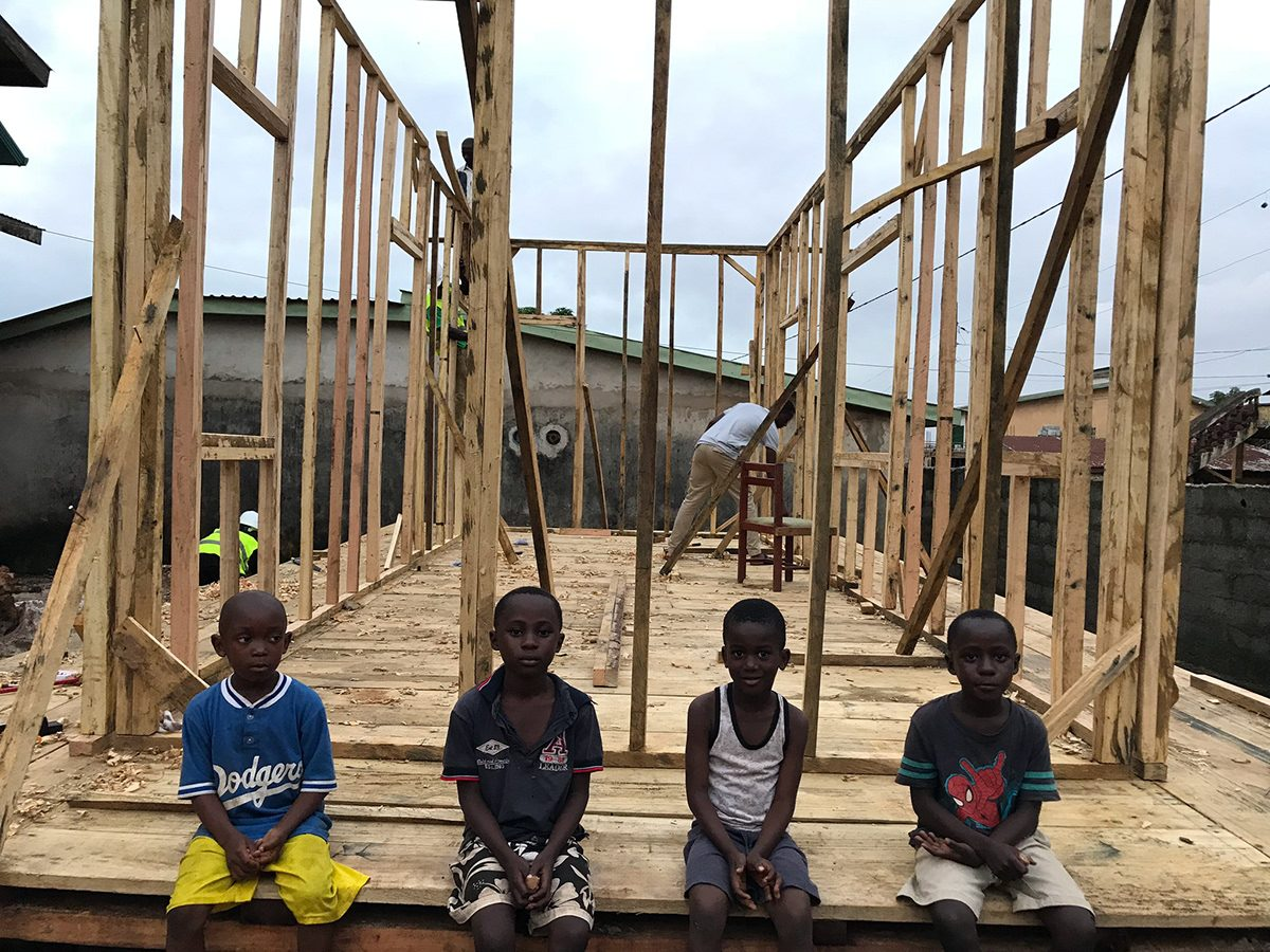 Building Homes with Low-income Communities in Guinea