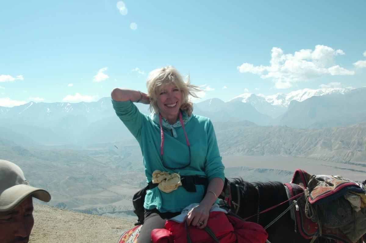 Blum Center Board Member Erica Stone's Commitment to the Himalayas