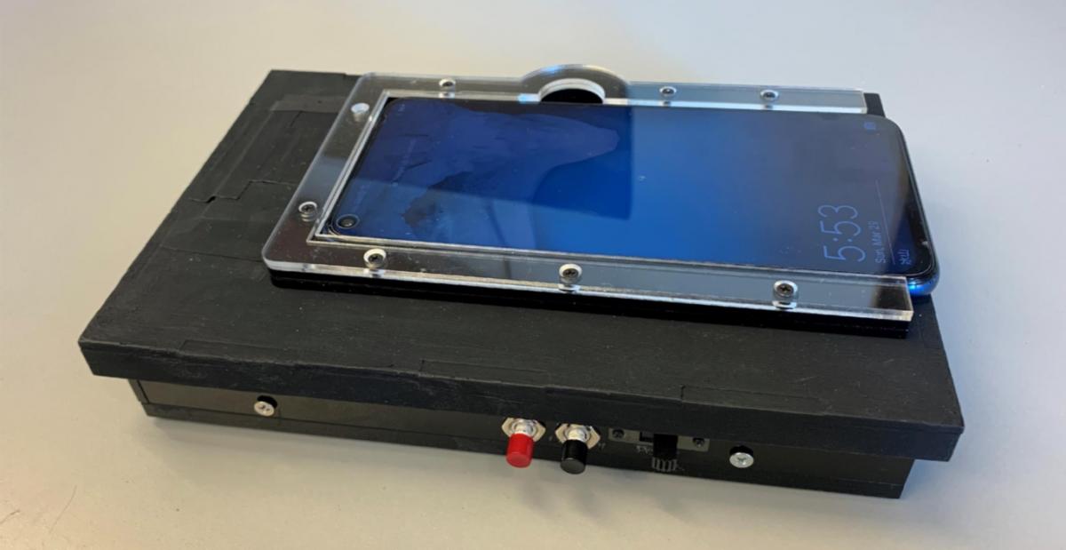 COVID-Scope: Mobile Phone-Based Virus Detection